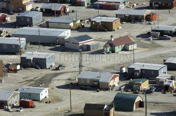 Inuit village of Resolute Cornwallis Island Canada