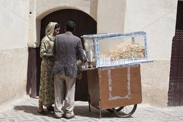 Vendor craft Chips - Fez Morocco