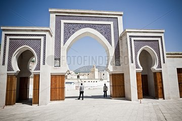 Great gate of the Medina - Fez Morocco