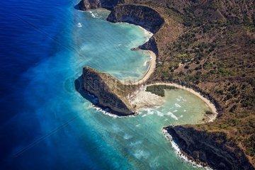 Moya Beach  Petite Terre  Mayotte  Indian Ocean