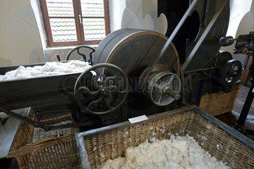 1924 opener cotton waste  Textile Museum   Ventron   Vosges  France