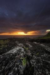 Sunrise at Grand Brûlé  Piton de la Fournaise  Reunion Island
