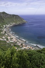 São Lourenço Bay  beach located in the northeast part of Santa Maria Island  Azores  Portugal  Atlantic Ocean