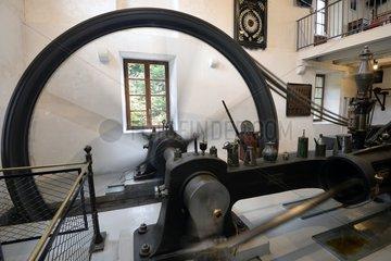1903 Steam Engine 30 CV  Textile Museum   Ventron   Vosges  France
