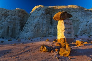 Toadstool Hoodoos  Grand Staircase-Escalante National Monument  Utah  Usa  America