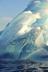 Denmark. Greenland. West coast. Iceberg in the straight of Vaigat.
