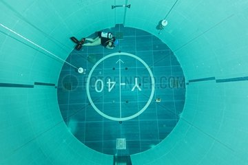 Y-40  the world's deepest pool  measuring 21 X 18m on the surface with 4300 cubic meters of spa water maintained at a constant temperature of 32-34°C  offers diving enthusiasts the freedom to dive and swim without a wetsuit. With a maximum depth of 40m  Y
