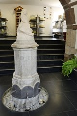 Mineral water spring fountain  water museum   Velleminfroy   Franche -Comté   France