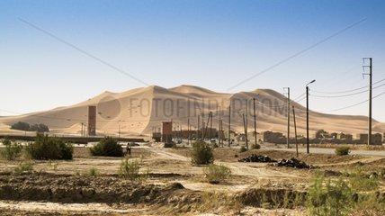 Sand dune of Merzouga - Morocco
