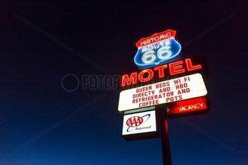 Seligman  U.S. Route 66 (US 66 or Route 66)  Arizona  USA  América