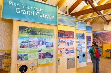 Grand Canyon Visitor Center at South Rim  Grand Canyon National Park  Arizona  Usa  America
