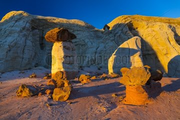 Toadstool Hoodoos  Grand Staircase-Escalante National Monument  Utah  Usa  America