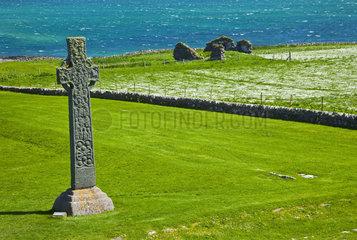 Cross of St. Martin - Isle of Iona Inner Hebrides Scotland