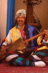 Musicien Gnaoua Essaouira Maroc