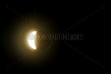 Total eclipse of the sun 3/20/15 - Spitzberg