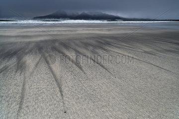 Laig beach on the island of Eigg - Small isles Hebrides