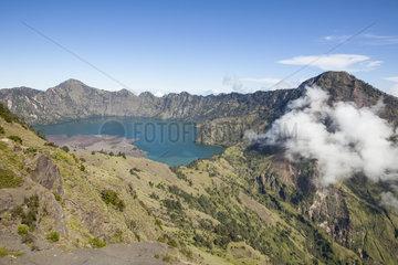 Segara Anak lake - Gunung Rinjani NP Lombok Indonesia