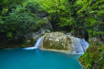 Nacedero del Urederra  Urbasa Andia Natural Park  Navarra  Spain  Europe