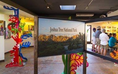 Visitor Center  Joshua Tree National Park  California  USA