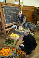 Delivery of fruits and vegetables to individuals - France