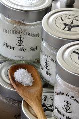 Salt flower pots - Camargue France