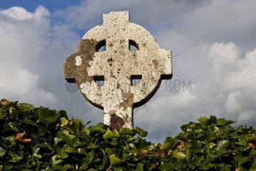 Celtic crucifix in Ireland