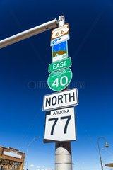 Holbrook  U.S. Route 66 (US 66 or Route 66)  Arizona  USA  América