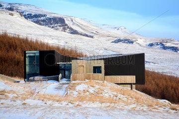 Snaefellsstofa Visitors Center - Vatnajokull Iceland