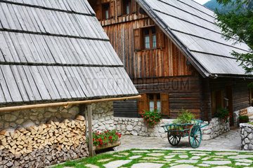Traditionnal house - Slovenian Alps Lower Carniola Slovenia