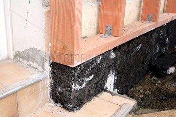 Cork underbody Exterior Insulation