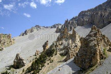 Casse deserted - Col de l'Izoard Queyras Alps France