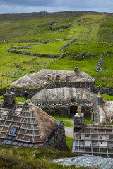 Garenin Blackhouses - Isle Lewis Hebrides Scotland