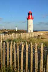 The main lighthouse of the harbour - Island of Oleron France