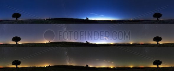 Astronomical twilight 10 minutes in 10 minutes - France