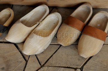 Wooden clogs Maple - Alsace France