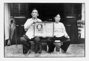 Miner veteran of Diên Biên Phu and his spouse in Hongai