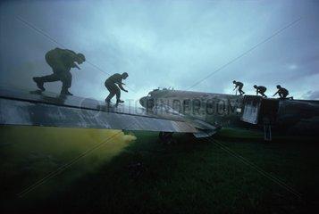 Anti-Terrorist Commando Unit in Training San Salvador