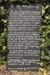 International festival of gardens of Chaumont-sur-Loire