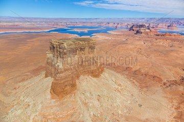 Colorado River  Lake Powell  Page  Arizona  Usa  America