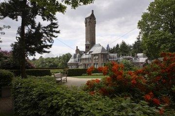 Saint Hubert basilica at spring Netherlands