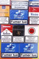Mentions obligatoires sur les paquets de cigarettes France