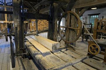 Sawmill high iron-Rupt-de-Bamont - Vosges France