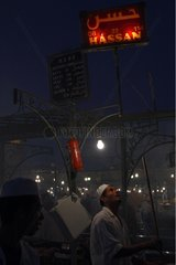 Ambience and restaurateurs night in Marrakech