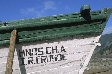Archipel Juan Fernandez  île Robinson Crusoé