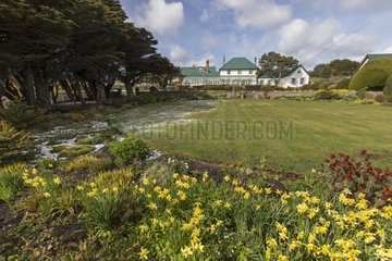 Residence of the Governor of Port Stanley - Falkland Islands
