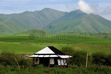 Yak hair tent - Tibet China