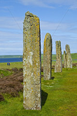 Megaliths of Ring of Brodgar - Orkney Mainland Scotland