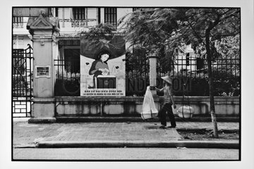 Call to vote for the elections in Hanoi Vietnam