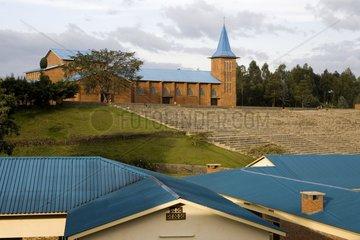 Catholic church of Ruhengeri Rwanda