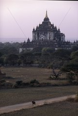 Pagoda of Pagan city Burma